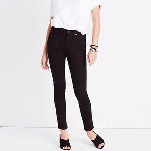 "Madewell 9"" High Rise Skinny Jeans Black 28 tall?"